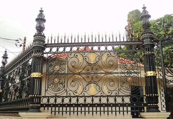 hàng rào nghệ thuật